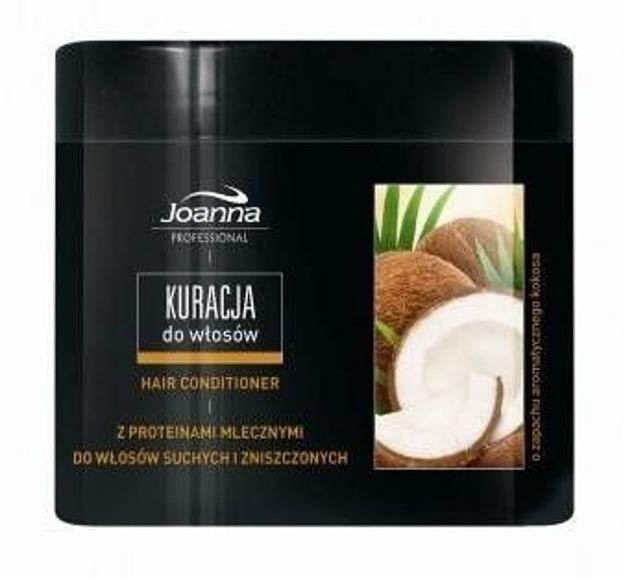 Joanna Professional Kuracja do włosów suchych i zniszczonych KOKOS, 500g