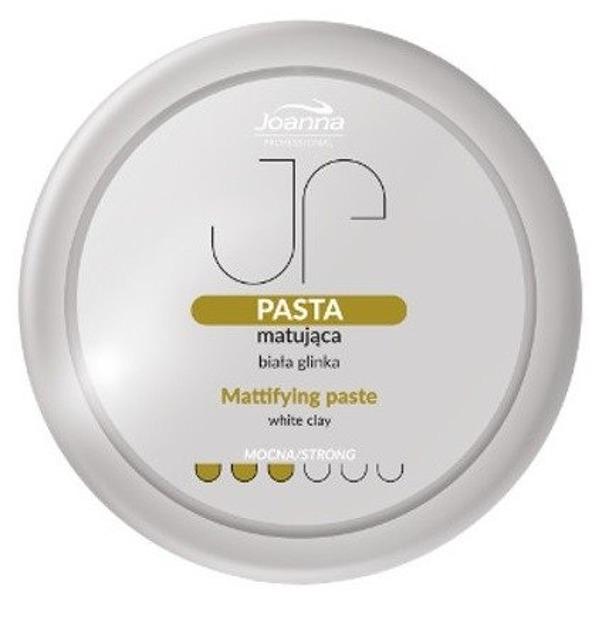 Joanna Professional Pasta matująca do włosów Mocna 200g