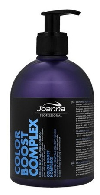Joanna Professional Szampon rewitalizujący kolor o zapachu czarnej porzeczki 500g