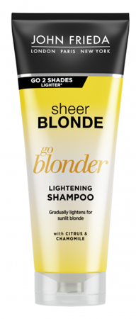John Frieda Sheer Blonde Go Blonder Lightening Shampoo Rozjaśniający szampon do włosów blond 250ml