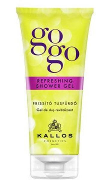 Kallos GoGo Odświeżajacy żel pod prysznic 200ml