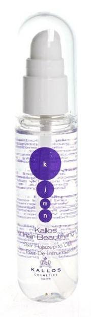 Kallos KJMN Elixir Hair Beautifying Oil - Olej upiększający włosy, 50 ml