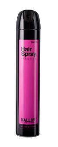 Kallos Kjmn Hair Spray Extra Strong - Lakier do włosów bardzo mocny, 500 ml