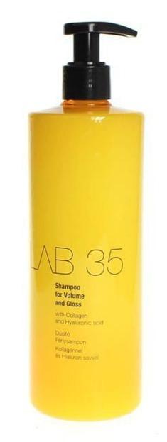 Kallos LAB 35 Shampoo For Volume And Gloss - Szampon do włosów dodający objętości i połysku, 500 ml