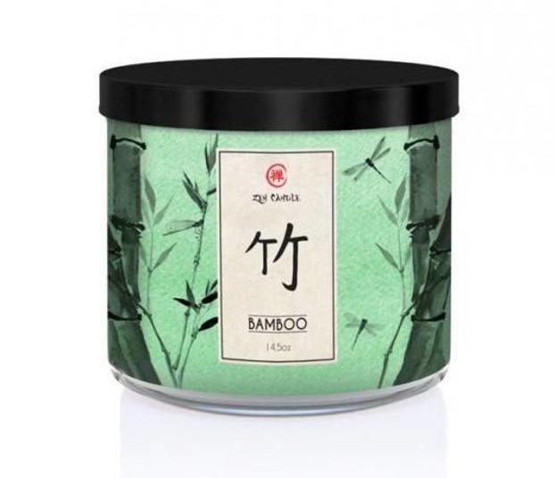 Kringle Candle ZEN świeca zapachowa Bamboo 411g