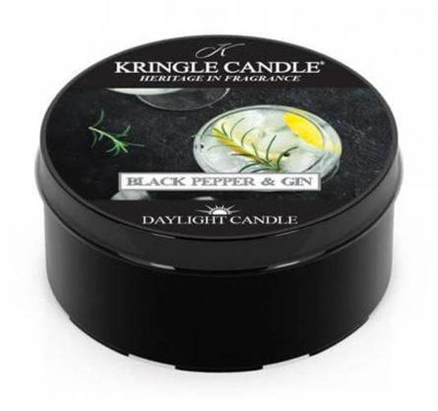 Kringle Country daylight świeczka zapachowa Black Pepper&Gin 42g