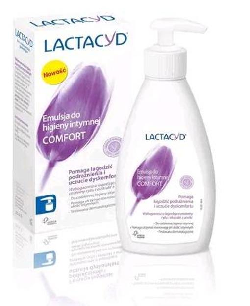 LACTACYD Łagodzący żel do higieny intymnej 200ml