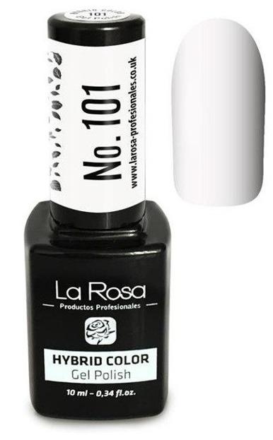 La Rosa Gel Polish Hybrid Color Lakier hybrydowy 101 10ml