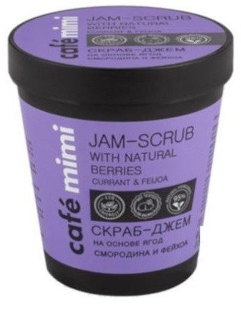 Le Cafe Mimi Jam-scrub Cukrowy scrub do ciała Czarna porzeczka&feijoa 270ml