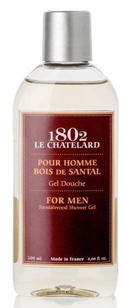 Le Chatelard 1802 MEN Żel pod prysznic dla mężczyzn Drzewo sandałowe 200ml