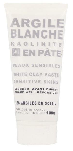 Les Argiles Du Soleil Francuska biała glinka kaolin w tubce 100g