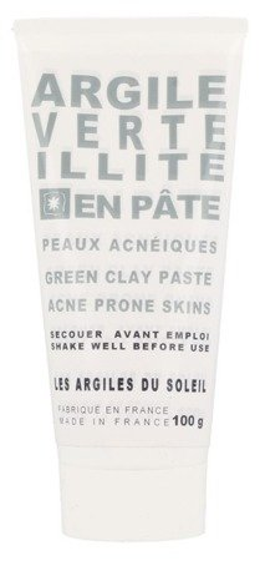 Les Argiles Du Soleil Francuska glinka zielona w tubce 100g