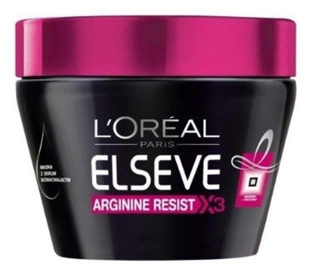 Loreal Arginine Resist X3 Maska wzmacniająca do włosów osłabionych z tendencją do wypadania 300ml