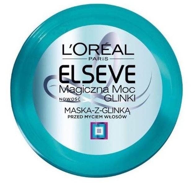 Loreal Elseve Magiczna Moc Glinki Maska do włosów 150ml