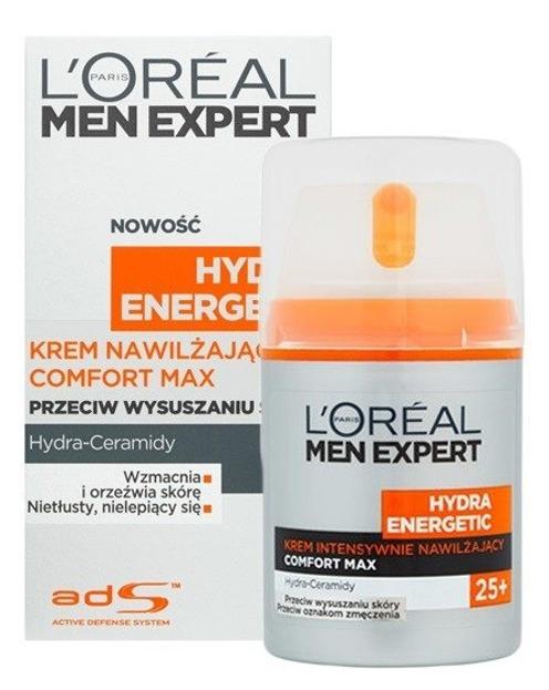 Loreal Men Expert Hydra Energetic Krem nawilżający do twarzy Comfort Max 50ml