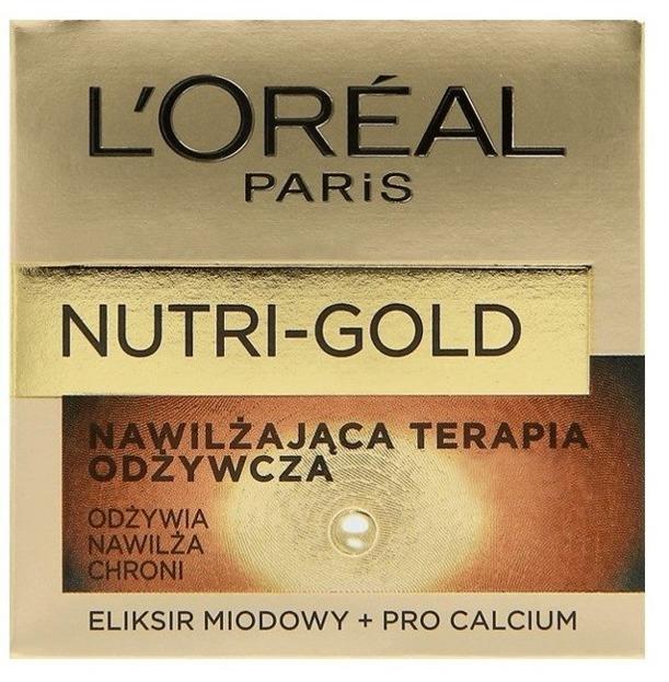 Loreal Nutri-Gold Nawilżająca terapia odżywcza na dzień 50ml