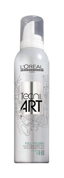 Loreal Professionnel Techni.Art Full Volume 4 - Pianka do włosów zwiększająca objętość, 250 ml