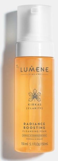 Lumene Clarity Rozświetlająca pianka do mycia twarzy 150ml