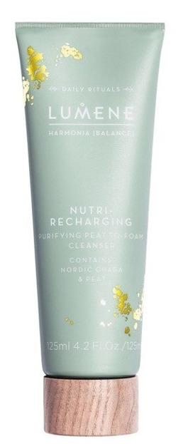Lumene Harmonia Nutri-recharging Purifying  Peat to Foam Cleaneser Krem myjący do twarzy 125ml