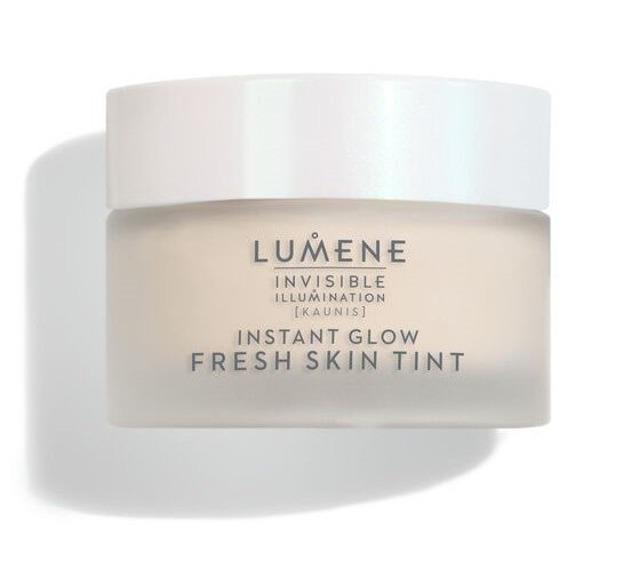 Lumene Invisible illumination Instant Glow Fresh Skin Tint Rozświetlająco-tonujący tint podkład do twarzy Universal LIGHT 30ml