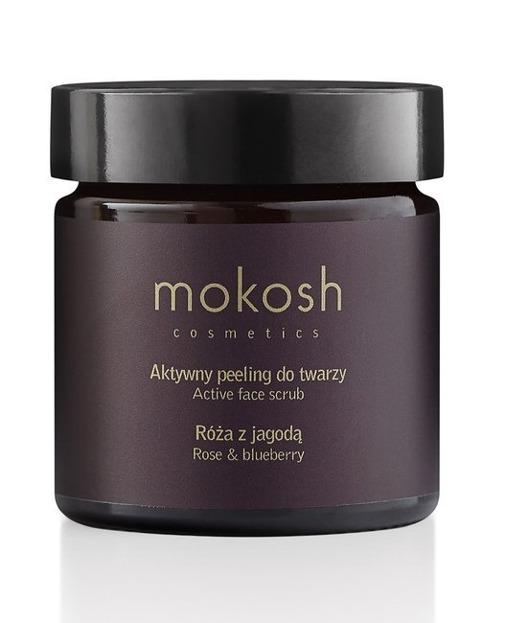 MOKOSH Aktywny Peeling do twarzy Róża & Jagoda 60ml