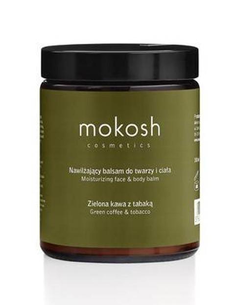 MOKOSH Balsam do Twarzy i Ciała Zielona Kawa&Tabaka 180ml