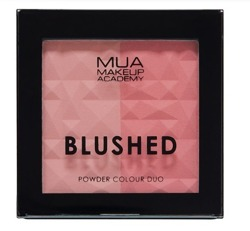 MUA BLUSHED Powder Colour Duo Podwójny róż do policzków PEACHY