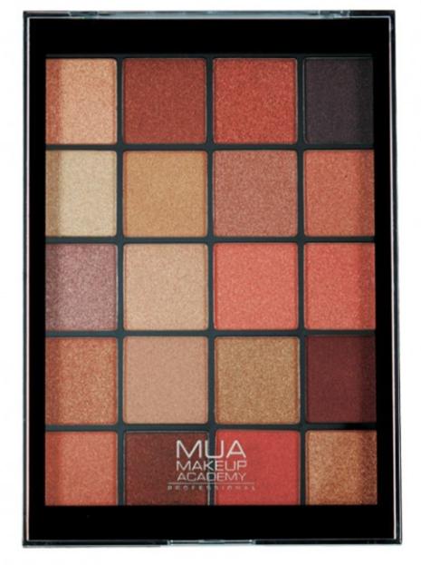 MUA Eyeshadow Palette Paleta 20 cieni do powiek MOLTEN METALS