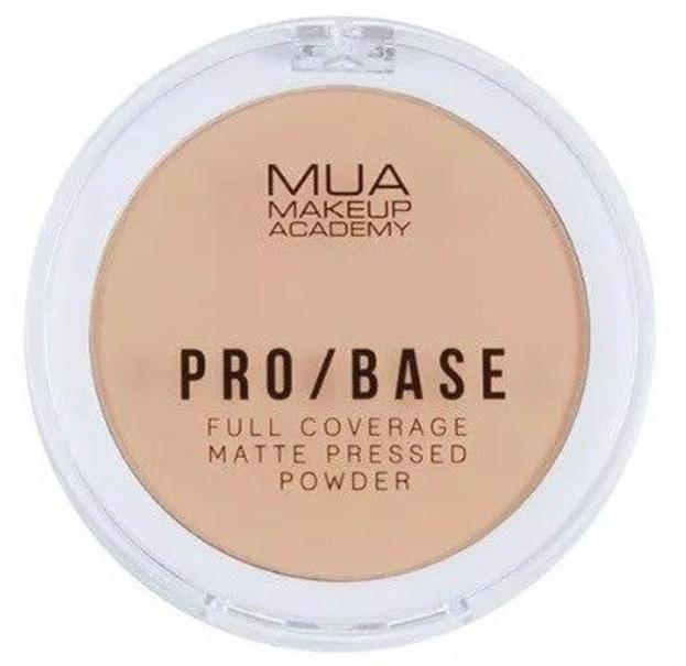 MUA Pro Base Full  Matte Pressed Powder Kryjąco-Matujący puder do twarzy 110 6,5g