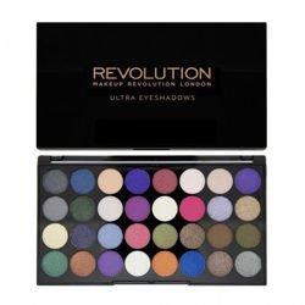 Makeup Revolution 32 Eyeshadow Palette - Paleta 32 cieni do powiek  Eyes Like Angels