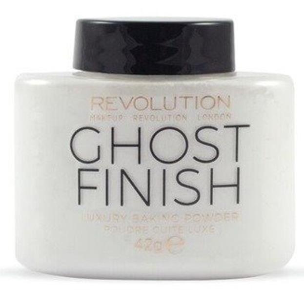 Makeup Revolution Baking Powder Ghost Finish Sypki puder transparentny