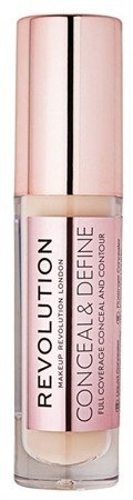 Makeup Revolution Conceal and Define Concealer Korektor do twarzy C6,5