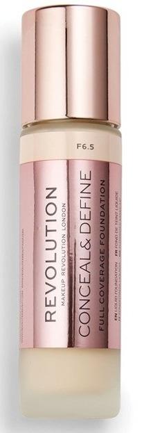 Makeup Revolution Conceal and Define Foundation Full Coverage Kryjący podkład do twarzy F6,5 23ml