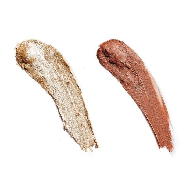 Makeup Revolution Creme Highlight and Contour Kit Zestaw do konturowania twarzy LIGHT