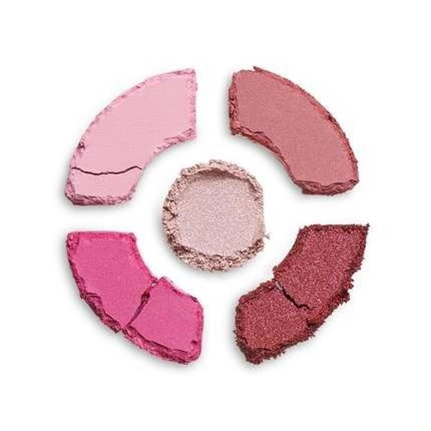 Makeup Revolution DONUTS Raspberry Icing Zestaw cieni do powiek
