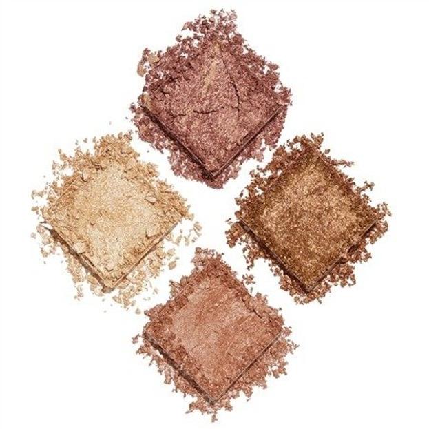 Makeup Revolution Face Quad Ignite Paleta rozświetlaczy