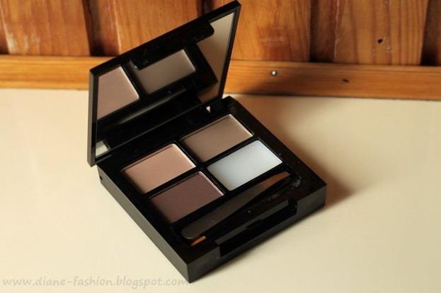 Makeup Revolution Focus & Fix Brow Kit - Zestaw do stylizacji brwi Light Medium