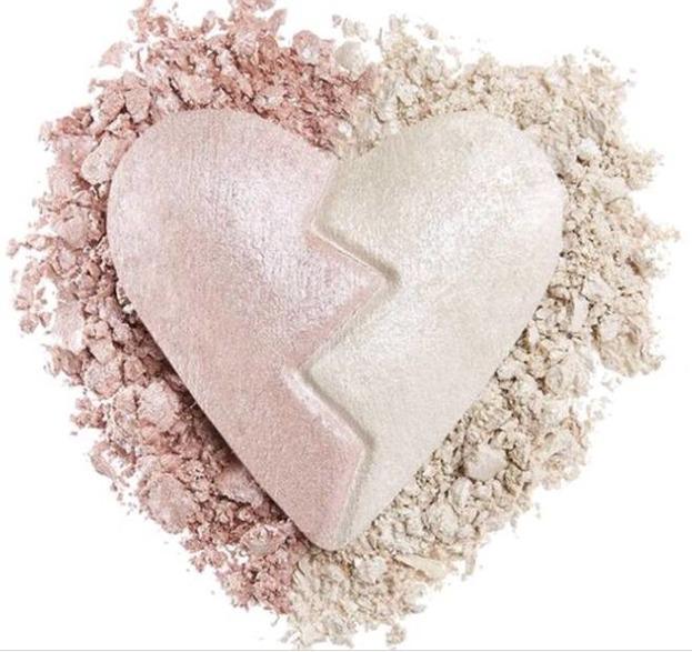 Makeup Revolution Heart Breakers highlighter Unique Rozświetlacz do twarzy 10g