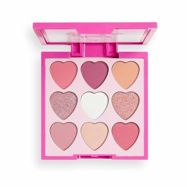Makeup Revolution Heart Breakers paleta cieni do powiek Sweetheart