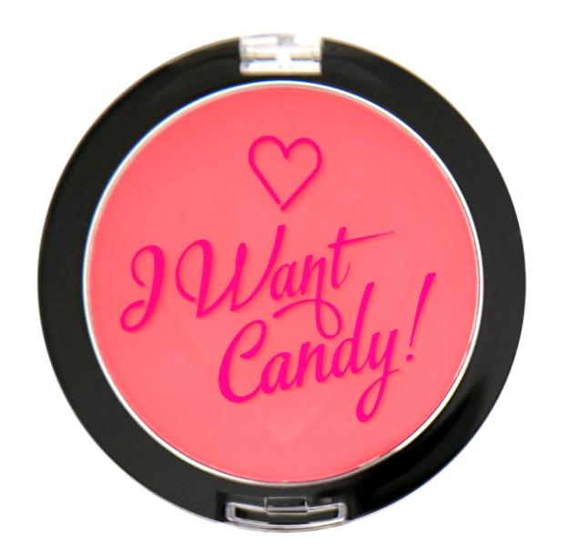 Makeup Revolution I Heart Makeup I Want Candy Wow Róż do policzków 3g