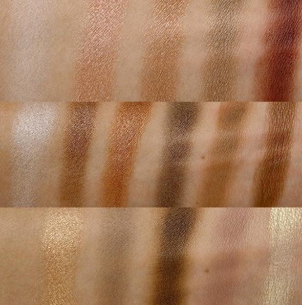 Makeup Revolution I Heart Makeup Wonder Palette Naked Chocolate CZEKOLADA Paleta cieni do powiek