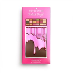 Makeup Revolution I Heart Revolution Turkish Delight Chocolate Paleta cieni do powiek CZEKOLADA