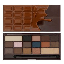 Makeup Revolution I heart  Makeup I Heart Chocolate Salted Caramel CZEKOLADA Paleta cieni do powiek