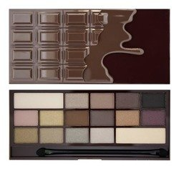 Makeup Revolution I heart  Makeup Wonder Palette Death By Chocolate CZEKOLADA Paleta cieni do powiek