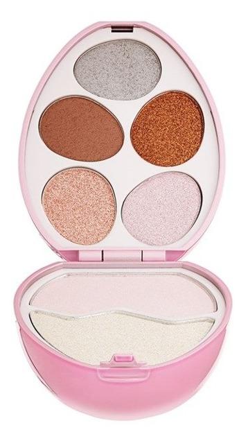 Makeup Revolution I love surprise Angel Zestaw cieni do powiek i rozświetlaczy