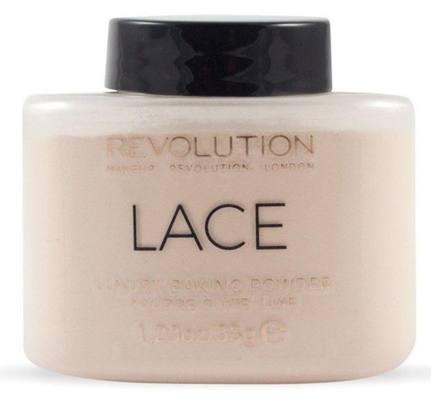 Makeup Revolution Lace Baking Powder Puder sypki 35g