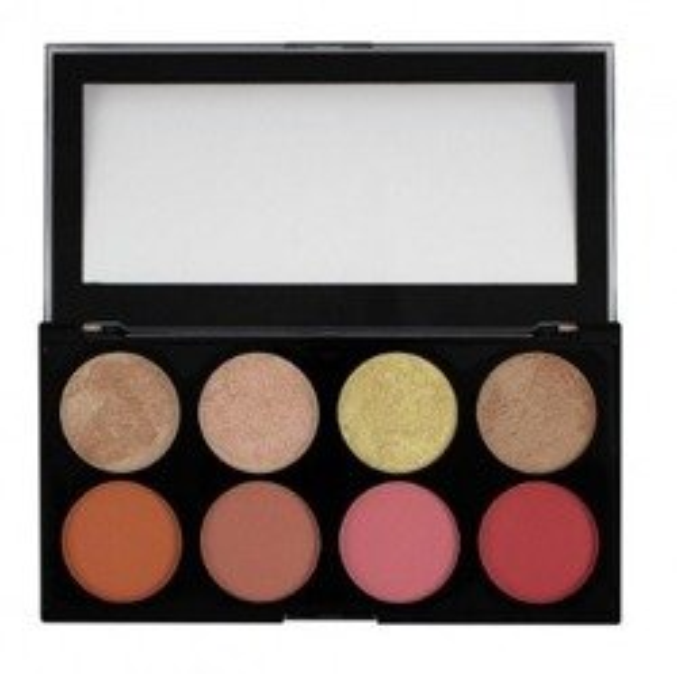 Makeup Revolution Palette Blush Goddess - Paleta róży do policzków