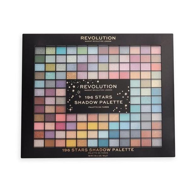 Makeup Revolution XMAS20 196 STARS Shadow Palette Paleta cieni do powiek