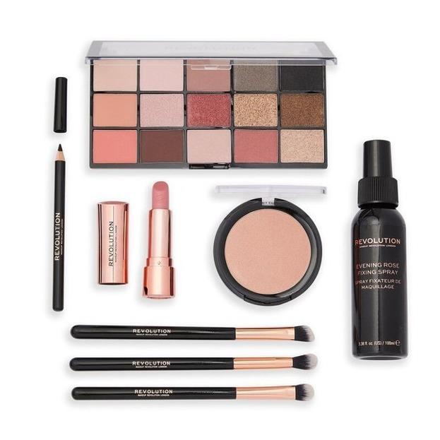 Makeup Revolution XMAS20 Zestaw prezentowy The Evening Rose