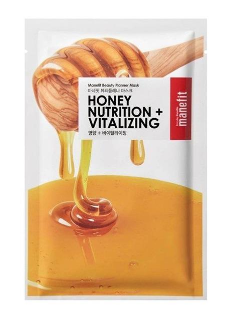 Manefit Beauty Planner Honey Mask Maska w płachcie na bazie miodu 20ml